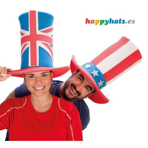 Flags of the World Top Hat