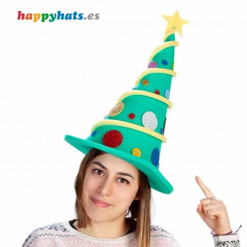 Gorro Elfo Árbol de Navidad