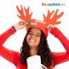 Rudolf Horns Reindeer Hat