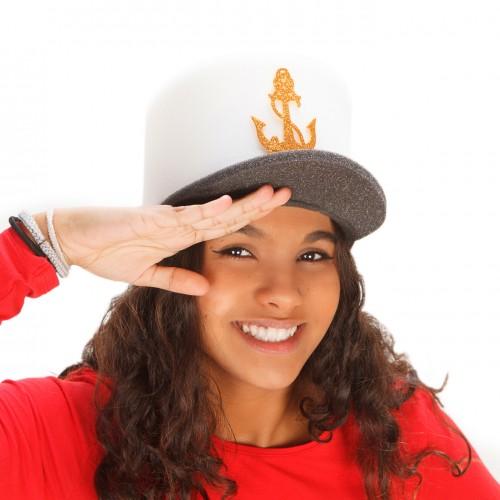 Yacht captain hat