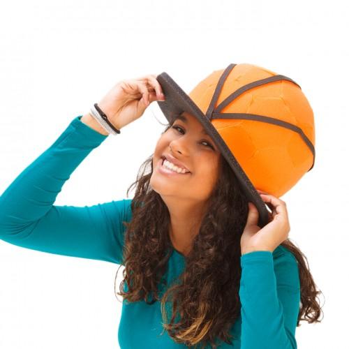 Gorro balón de baloncesto