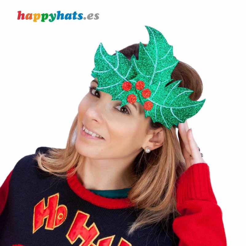 Holly Leaf Diadem