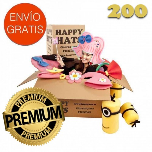 Pack Fiesta PREMIUM 200