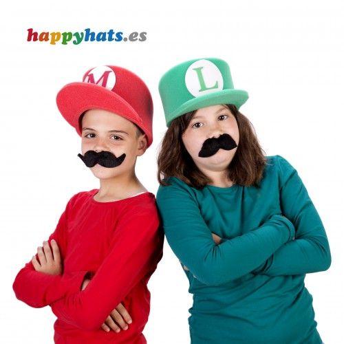 Mario Bros y Luigi (tamaño infantil)